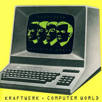 Kraftwerk Computer World (Computerwelt) album cover