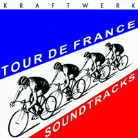 Kraftwerk - Tour De France - Soundtracks CD (album) cover