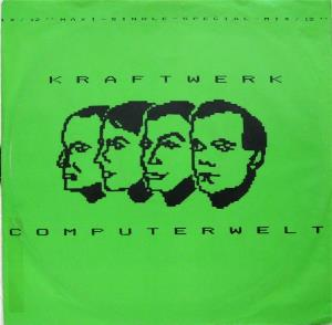 Kraftwerk Computerwelt album cover