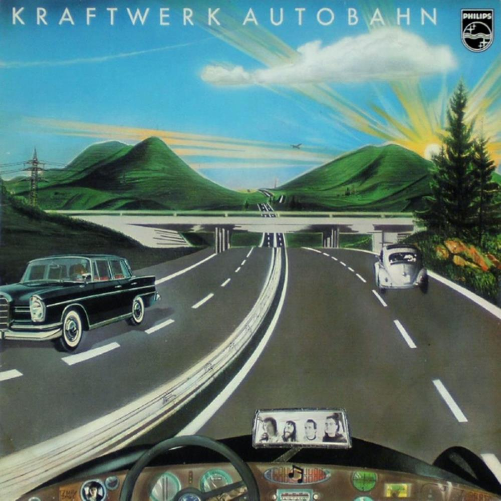 Autobahn by KRAFTWERK album cover