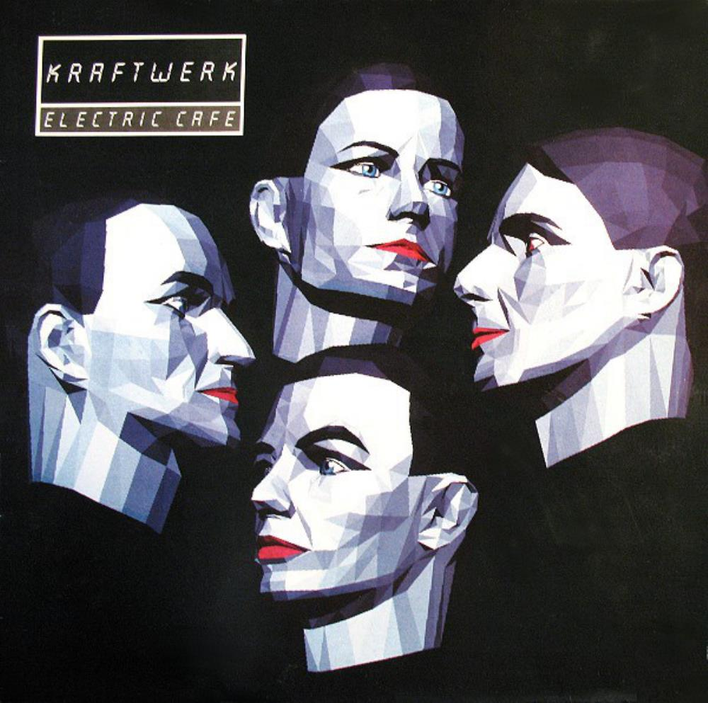 Kraftwerk Electric Café [Aka: Techno Pop] album cover