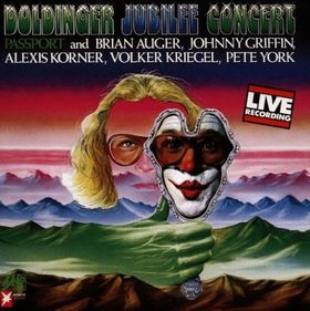 Passport - Doldinger Jubilee Concert  CD (album) cover
