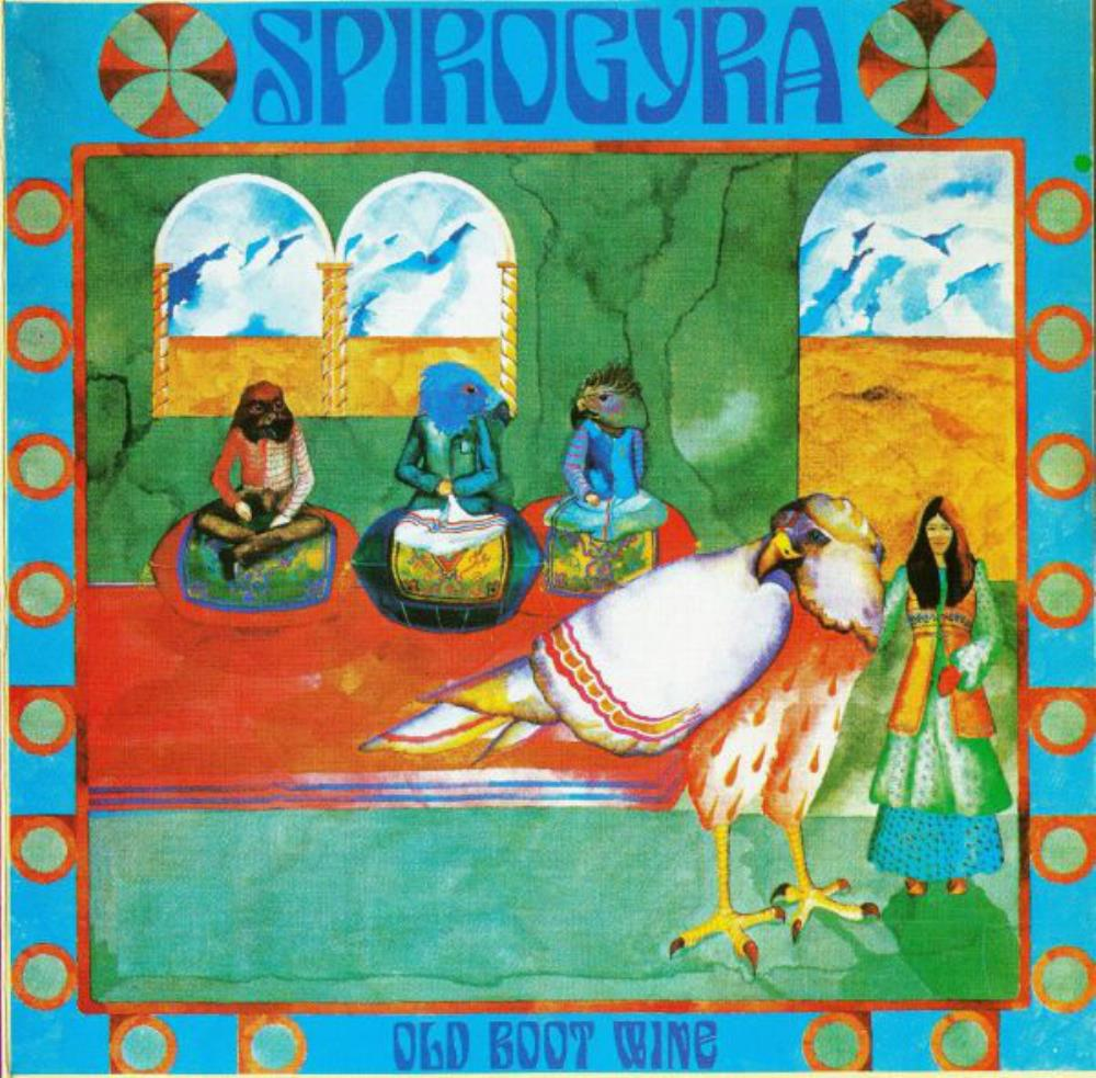 Old Boot Wine by SPIROGYRA album cover