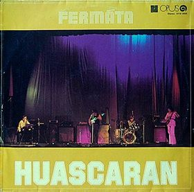 Ferm�ta - Huascaran CD (album) cover