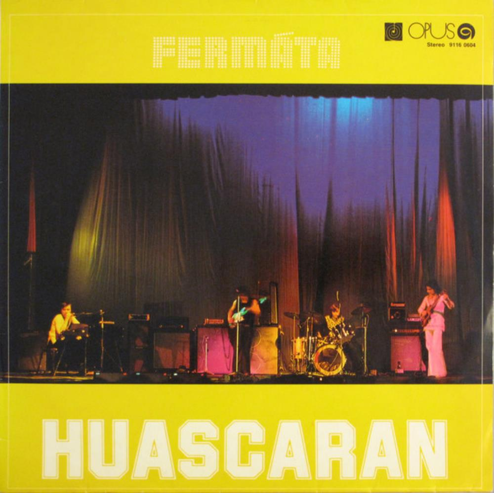 Huascaran by FERMATA album cover