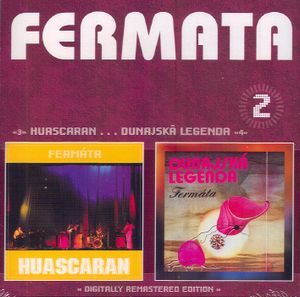 Ferm�ta - Huascaran/Dunajsk� legenda CD (album) cover