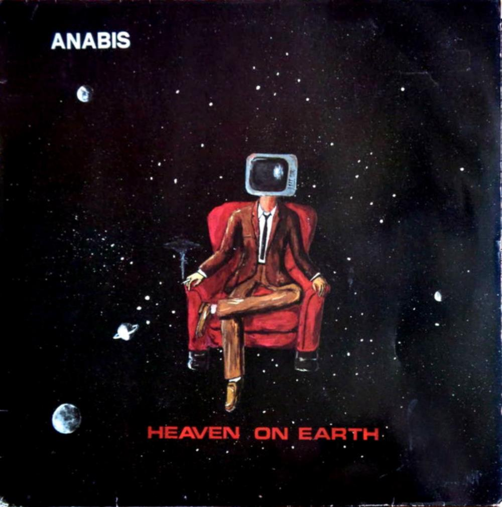 Anabis - Heaven On Earth CD (album) cover