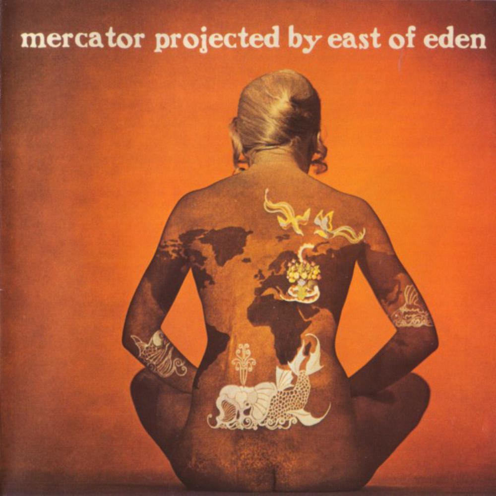 East Of Eden - Mercator Projected CD (album) cover