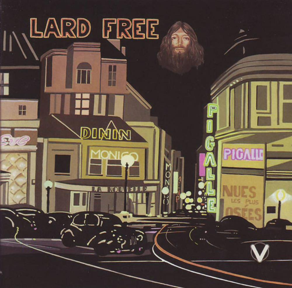 Lard Free - I'm Around About Midnight CD (album) cover