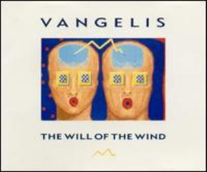 Vangelis The Will Of The Wind album cover