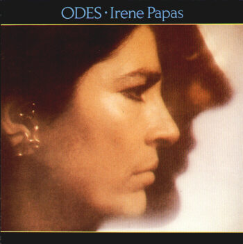 Vangelis Odes (with Irene Papas) album cover