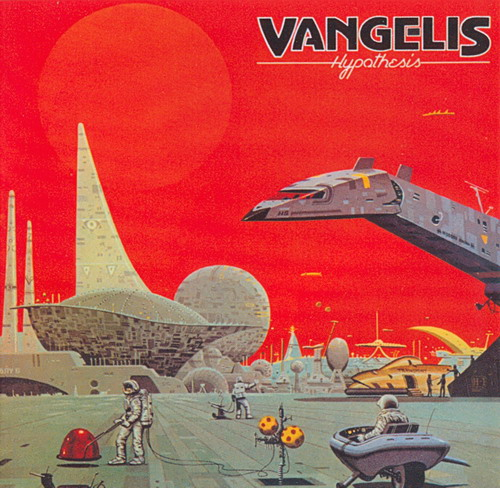 Vangelis - Hypothesis CD (album) cover