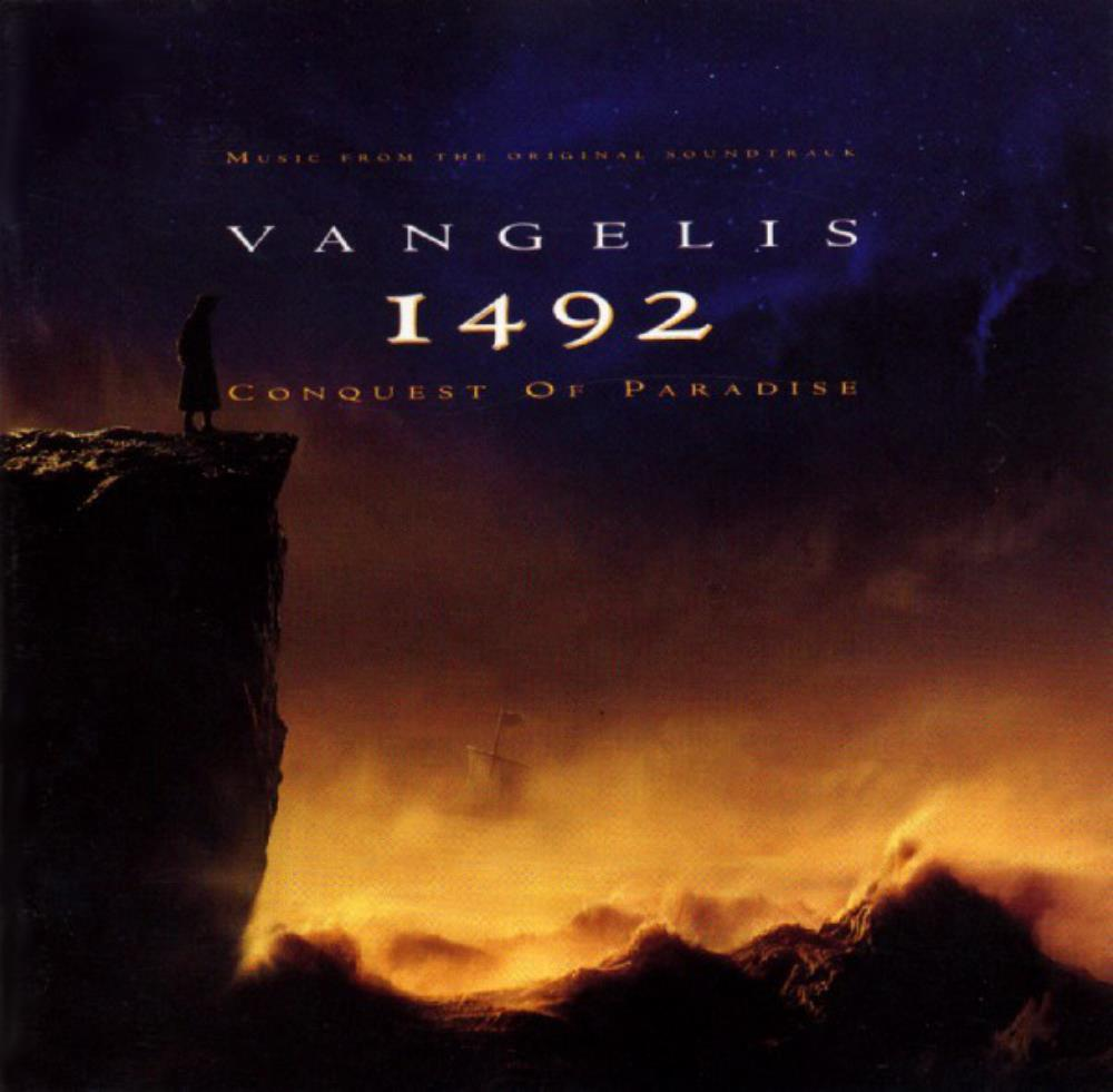 Vangelis - 1492 - Conquest Of Paradise (OST) CD (album) cover