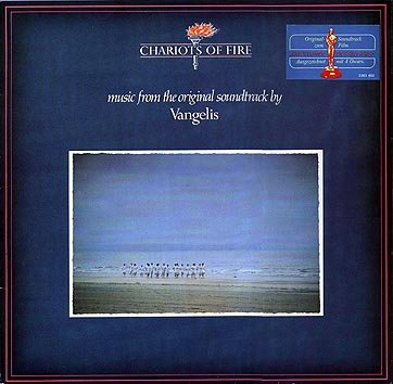Vangelis - Chariots Of Fire CD (album) cover