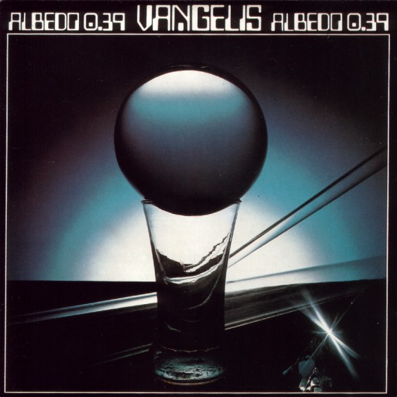 Albedo 0.39 by VANGELIS album cover