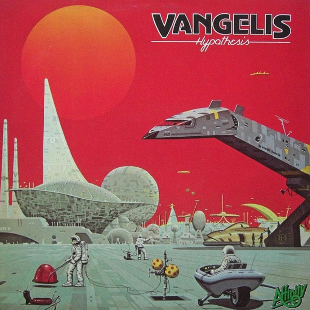 Vangelis - Hypothesis [Aka: Visions Of The Future] CD (album) cover
