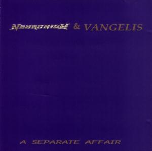 Vangelis Neuronium and Vangelis  A Separate Affair album cover
