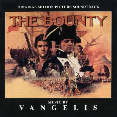 Vangelis The Bounty album cover