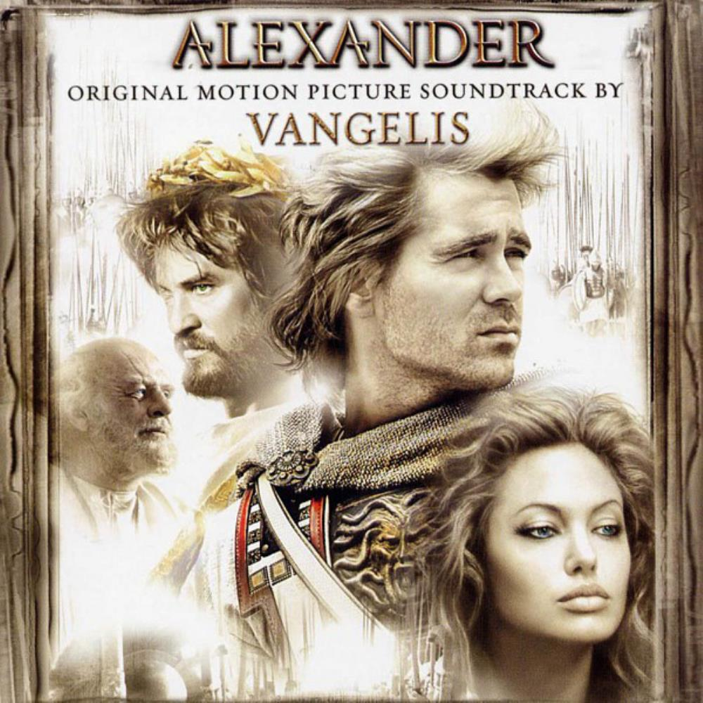 Vangelis - Alexander (OST) CD (album) cover