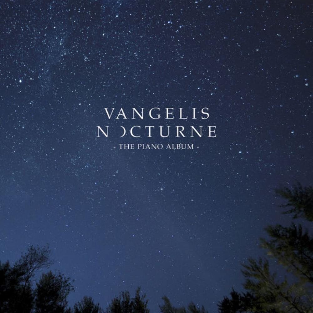 Nocturne - The Piano Album by VANGELIS album cover