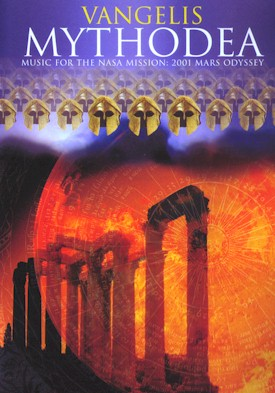 Vangelis - Mythodea-Music for the NASA mission: 2001 Mars Odyssey CD (album) cover
