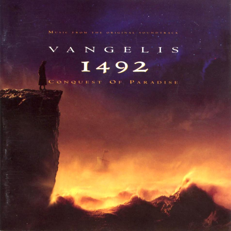 Vangelis 1492 - Conquest Of Paradise album cover