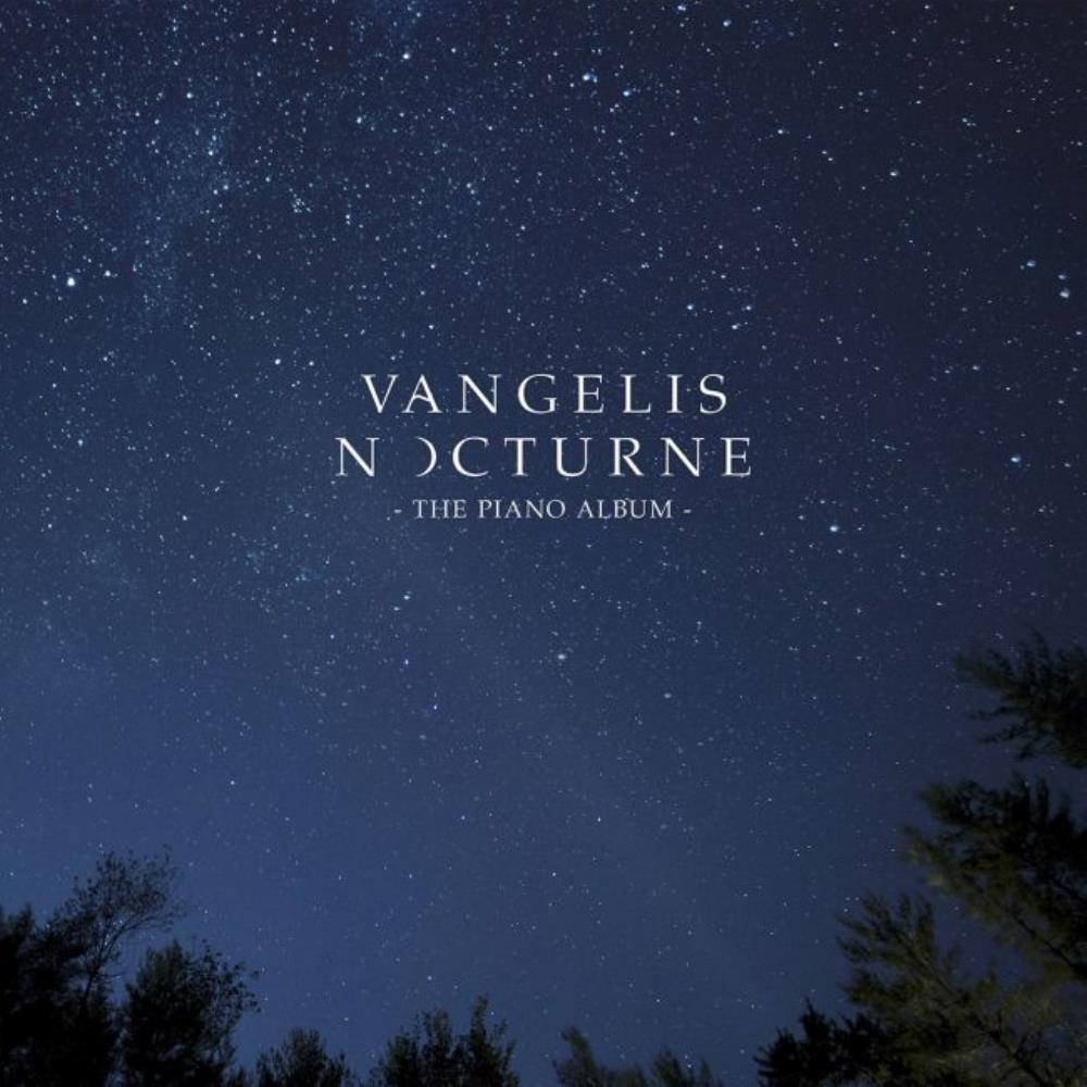 Nocturne - The Piano Album by VANGELIS album cover