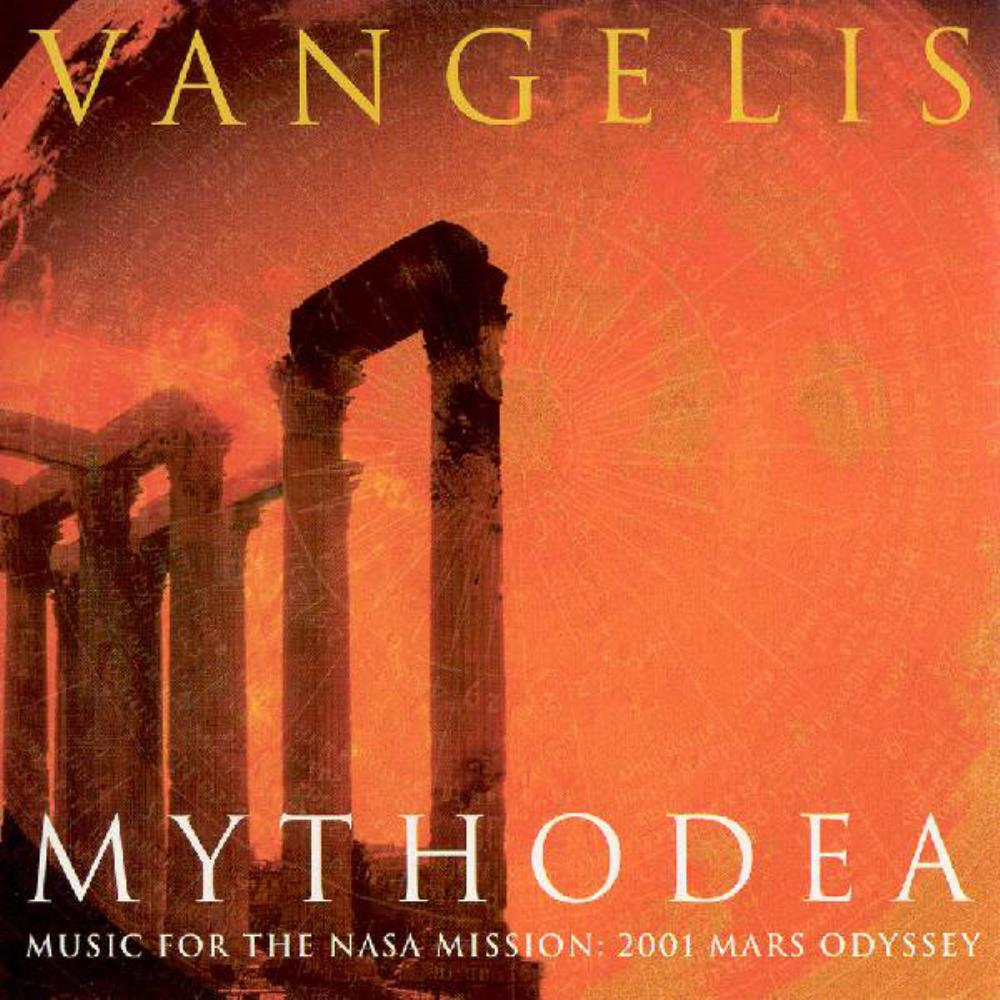 Vangelis Mythodea album cover