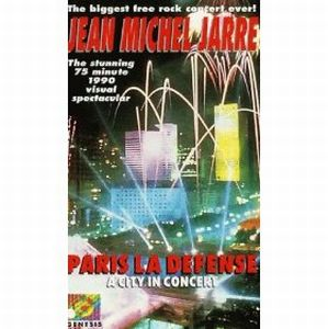 Jean-Michel Jarre Paris La Defense: A city in concert album cover