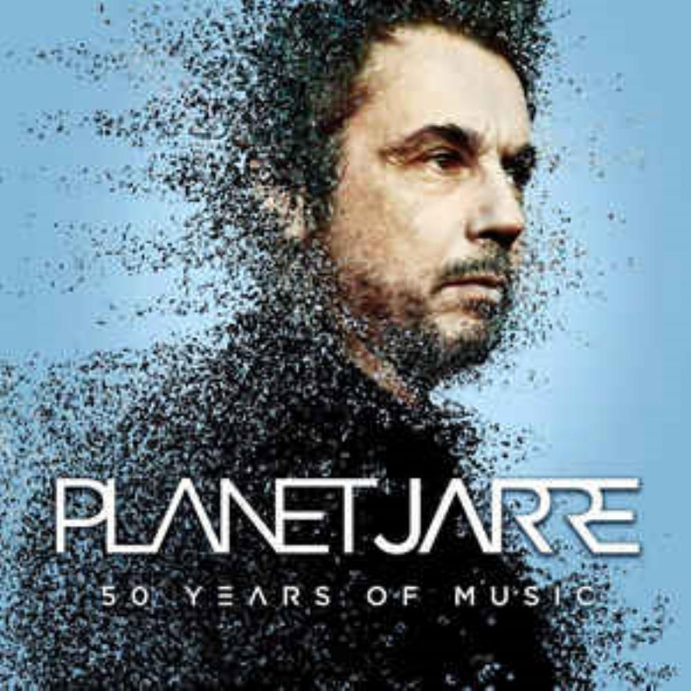 Jean-Michel Jarre Planet Jarre (50 Years Of Music) album cover