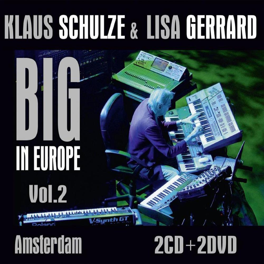 Klaus Schulze Big In Europe Vol. 2 - Amsterdam album cover