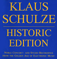 Klaus Schulze Historic Edition album cover