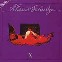 X by SCHULZE, KLAUS album cover
