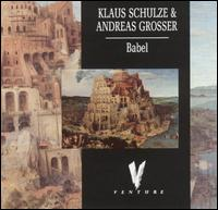 Klaus Schulze Babel album cover