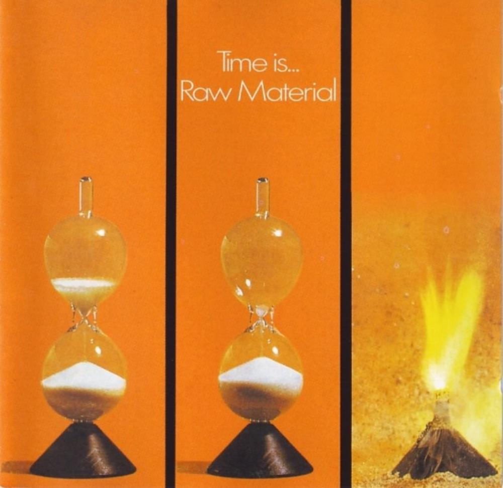 Time Is ... by RAW MATERIAL album cover