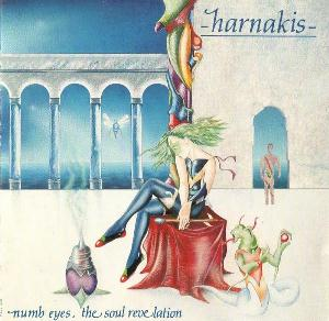 Harnakis - Numb Eyes, The Soul Revelation CD (album) cover
