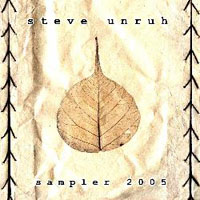 Steve Unruh - Sampler 2005 CD (album) cover