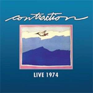 Contraction - Live 1974 CD (album) cover