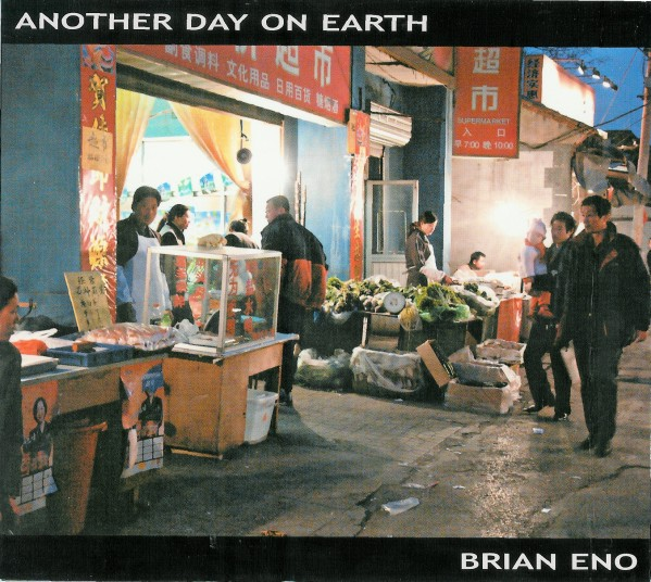 Another Day on Earth by ENO, BRIAN album cover