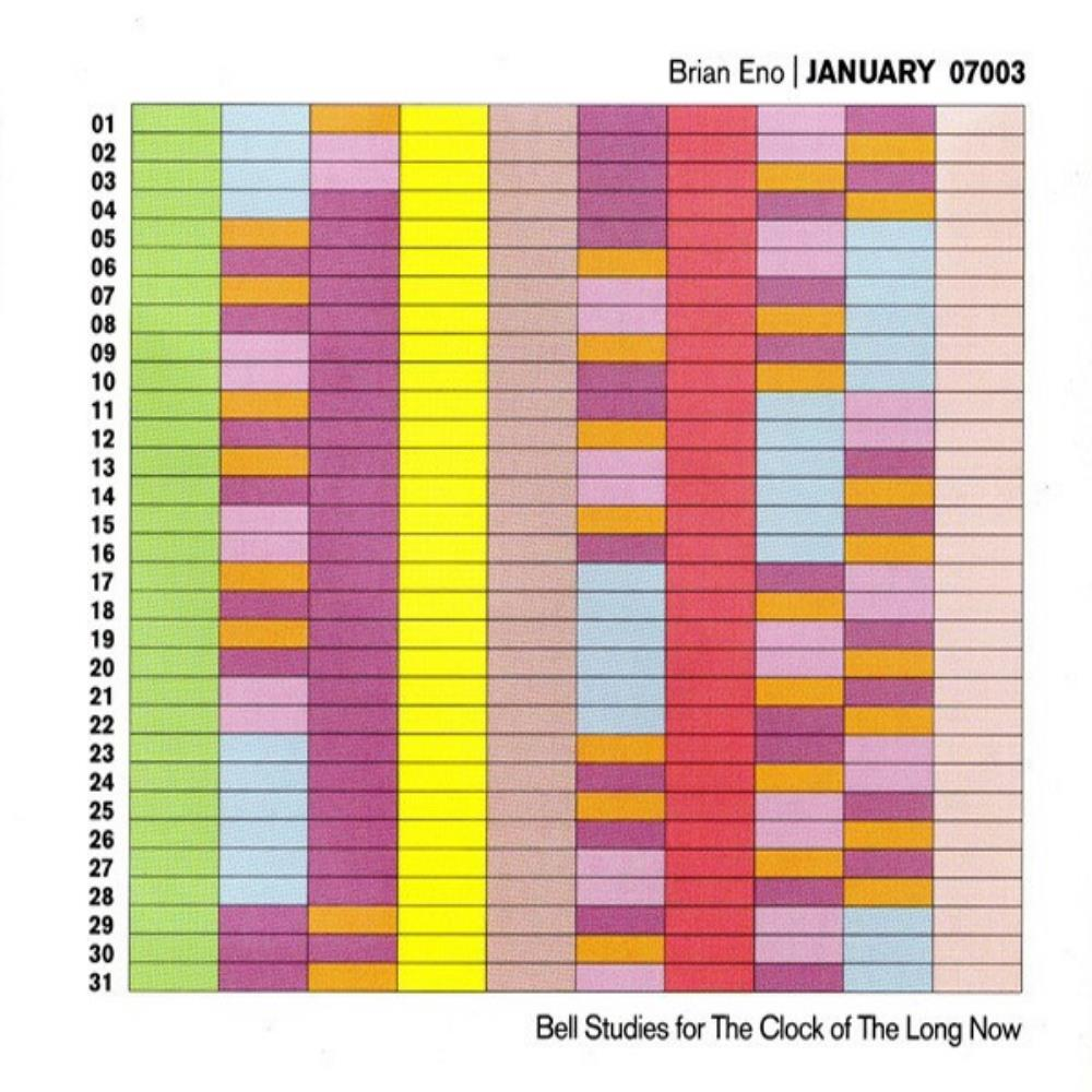 Brian Eno January 07003 - Bell Studies For The Clock Of The Long Now album cover