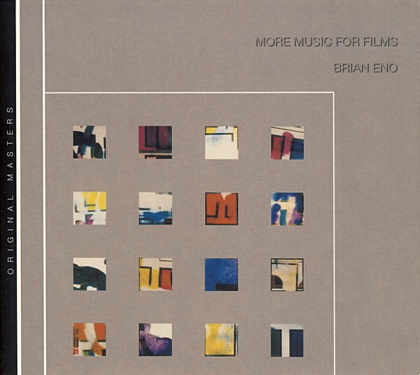 Brian Eno More Music For Films album cover