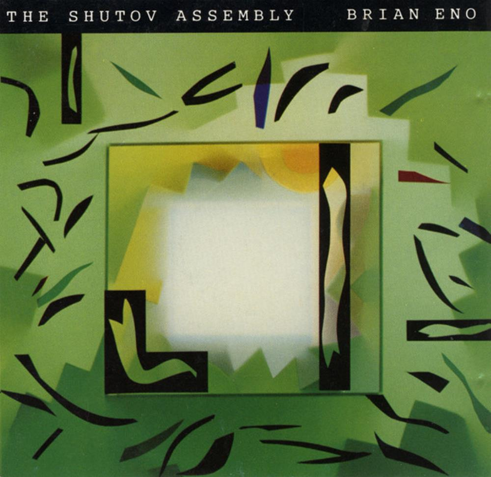 Brian Eno The Shutov Assembly album cover
