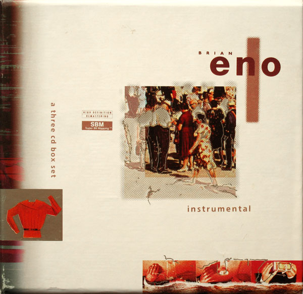 Brian Eno - Eno Box I: Instrumentals CD (album) cover