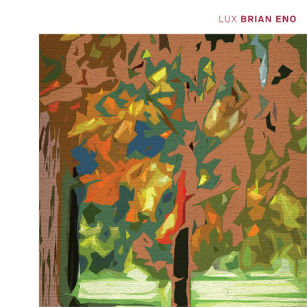 Brian Eno Lux album cover