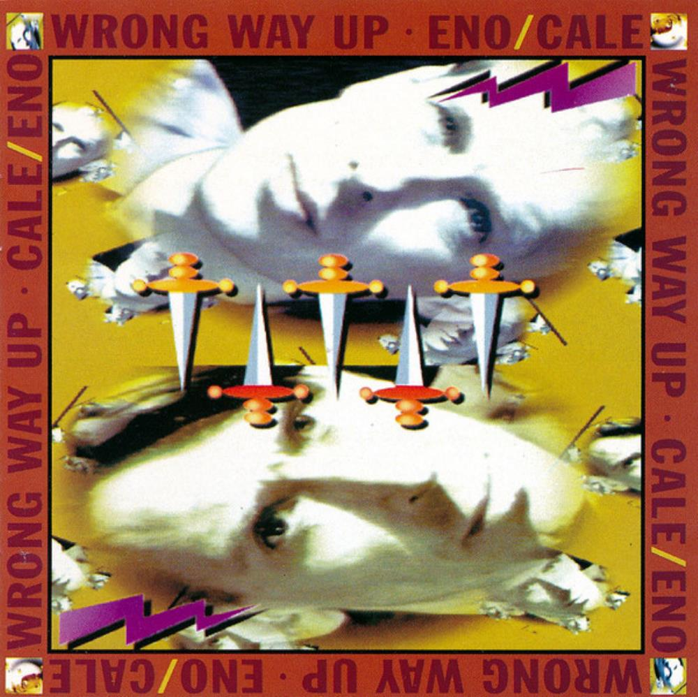Brian Eno - Eno & Cale: Wrong Way Up CD (album) cover