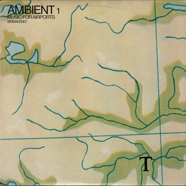 Ambient 1 - Music For Airports by ENO, BRIAN album cover