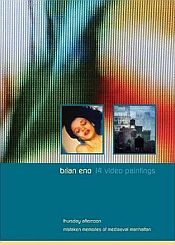 Brian Eno - 14 Video Paintings CD (album) cover