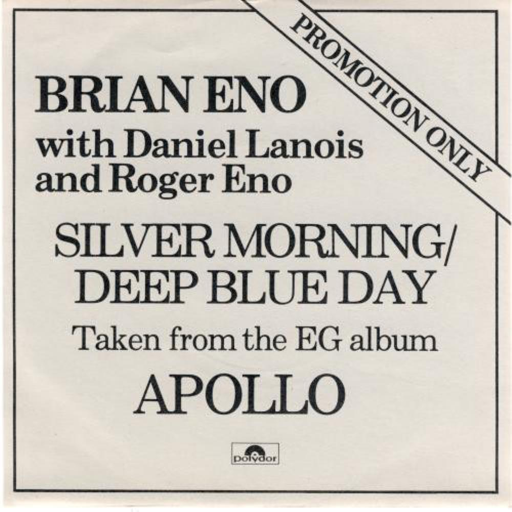 Silver Morning / Deep Blue Day (Brian Eno, Daniel Lanois & Roger Eno) by ENO, BRIAN album cover