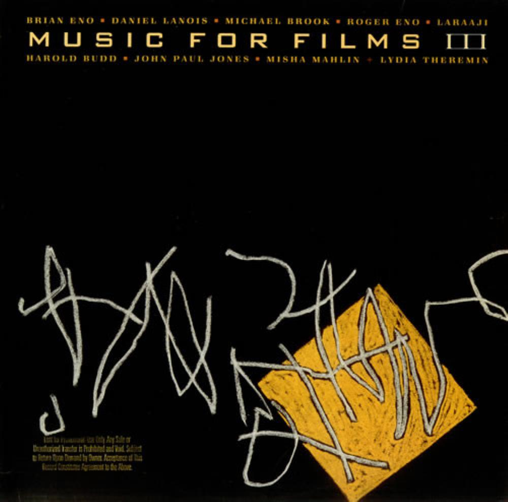Brian Eno Music For Films III album cover