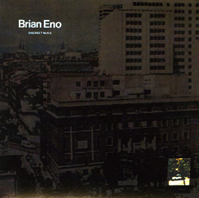 Brian Eno - Discreet Music CD (album) cover